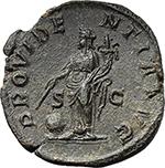 reverse:  Maximinus I (235-238). AE Sestertius, 235 AD.
