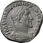 obverse:  Maximinus I (235-238). AE Sestertius, 235-236 AD.