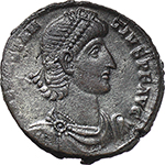 obverse:  Constantius II (337-361). AE 23 mm. 350-355 AD. Antioch mint.