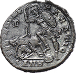 reverse:  Constantius II (337-361). AE 23 mm. 350-355 AD. Antioch mint.