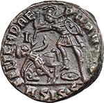 reverse:  Constantius Gallus Caesar (351-354 AD). AE 22 mm, 367-375 AD. Siscia mint.