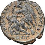 reverse:  Constantius Gallus Caesar (351-354 AD). AE Follis, 348-350 AD. Antioch mint.