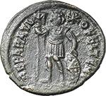 reverse:  Procopius (365-366). AE 19mm. Uncertain mint.
