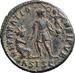 reverse:  Gratian (367-383). AE 23mm. Siscia mint. Struck 378-383 AD.