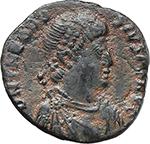 obverse:  Theodosius I (379-395). AE 21 mm, 392-395 AD. Antioch mint.