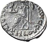 reverse:  Jovinus (411-413). AR Reduced Siliqua, Lugdunum mint.