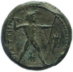 Reverse image of coin 3013