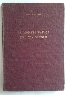 obverse image:  D INCERTI, V. Le monete papali del XIX secolo.