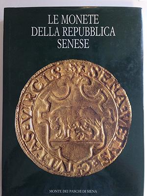 obverse image:  PAOLOZZI STROZZI, B. - TODERI G. - VANNEL TODERI, F. Le monete della Repubblica Senese.
