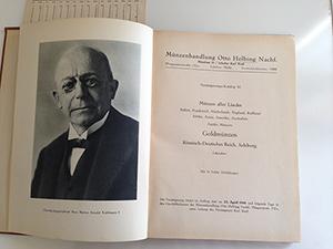 obverse image:  HELBING, Otto. Auktions-Katalog 82. Münzen aller Länder, Goldmünzen. München, 22 April 1941.