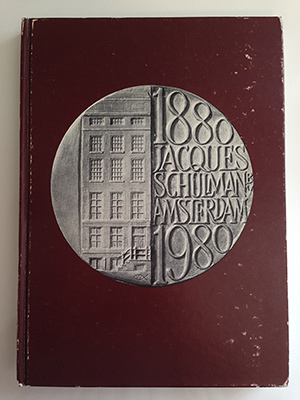 obverse image:  SCHULMAN, Jacques. Catalogue 271. Coins and medals. Centenary auction sale. Amsterdam, 17-21 November 1990.