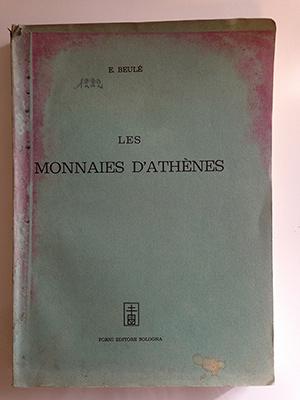 obverse image:  BEULE, E. Les monnaies d Athènes.