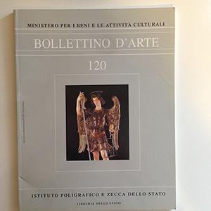 obverse image:  BOLLETTINO D ARTE. Fascicolo 120.