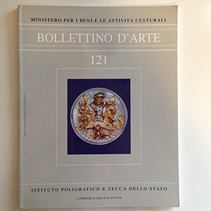 obverse image:  BOLLETTINO D ARTE. Fascicolo 121.