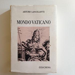 obverse image:  LANCELLOTTI, A. Mondo Vaticano. Terza edizione.