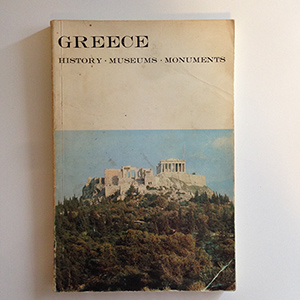 obverse image:  LELLOS, L.B. Greece. History, museums, monuments.