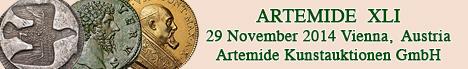 Banner Artemide  - Asta XLI