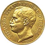 obverse: Regno di Italia. Vittorio Emanuele III (1900-1943). 50 lire 1911.    Pag. 656. Mont. 34. AU.    R.  SPL+.