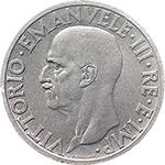 obverse: Regno di Italia. Vittorio Emanuele III (1900-1943). Lira 1936.    Pag. 789. Mont. 218. NI.    R.  qFDC. Periziata.