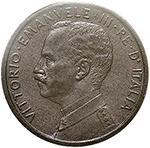 obverse: Regno di Italia. Vittorio Emanuele III (1900-1943). Centesimo prora 1908.    Pag. 945. Mont. 422. CU.    RR.  FDC. Periziata.