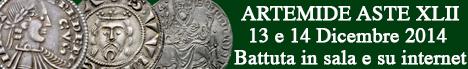 Banner Artemide  - Asta XLII