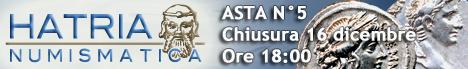 Banner Hatria Numismatica asta n° 5