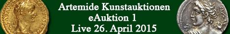 Banner Artemide Kunstauktionen - eAuktion 1