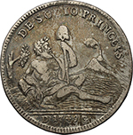Reverse image of coin 1020