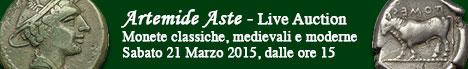 Banner Artemide  - Asta 29E