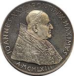 obverse: Giovanni XXIII (1958-1963). Medaglia 1963. Anno III. Per il Premio Balzan.    De Luca 307. AG.   mm. 44.00 Inc. Giampaoli.   qFDC/FDC.