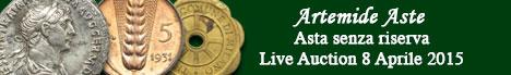 Banner Artemide  - Asta numismatica senza riserva #5