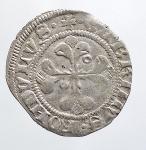 obverse: Zecche Italiane - CREMONA Cabrino Fondulo (1413-1420) Mezzo Grosso.