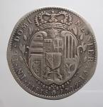 reverse: Zecche Italiane - Firenze. Francesco III. 1737-1746. Mezzo Francescone 1739. Ag