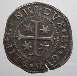 reverse: GENOVA. DOGI BIENNALI, III fase (1637-1797) Mezzo Scudo 1666