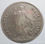 obverse: Genova. Repubblica di Genova (1792-1798). 4 lire 1796