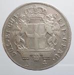reverse: Genova. Repubblica di Genova (1792-1798). 4 lire 1796