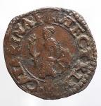 obverse: Zecche Italiane - Guastalla. Ferrante III Gonzaga. 1632-1678. Sesino