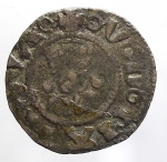 obverse: Zecche Italiane - Mantova. Ludovico II Gonzaga (1369-1382). Quattrino