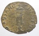 obverse: Maria Gonzaga per Carlo II 1637-1647. Soldo con il reliquiario