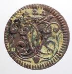 obverse: Zecche Italiane - Mantova. Ferdinando Carlo Gonzaga Nevers (1669-1707). Sesino 1706