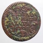 reverse: Zecche Italiane - Mantova. Ferdinando Carlo Gonzaga Nevers (1669-1707). Sesino 1706