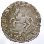 obverse: Mantova. Ferdinando Carlo Gonzaga Nevers (1669-1707). Mezza lira