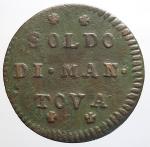 obverse: Zecche Italiane - Mantova. Carlo VI d Asburgo (1707-1740). Soldo 1731