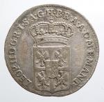 reverse: MANTOVA. Leopoldo II d'Asburgo Lorena (1790-1792). Mezza lira 1791