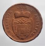 reverse: Massa di Lunigiana. Maria Beatrice d Este Cybo Malaspina (1790-1796). 2 soldi 1792