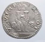 reverse: Milano. CARLO V D'ASBURGO (1535-1556) - Denaro da 8 soldi s.d. Ag.