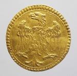 obverse: Zecche Italiane - Modena. Francesco I d Este (1629-1658). Scudino d oro da 103 soldi