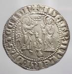 obverse:  Zecche Italiane - Napoli. Carlo I d Angiò (1266-1285). Saluto d argento