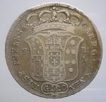 reverse: Zecche Italiane - Napoli. Carlo di Borbone (1734-1759). 120 grana o piastra 1735