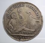 obverse: Zecche Italiane - Napoli. Carlo di Borbone (1734-1759). 120 grana o piastra 1747